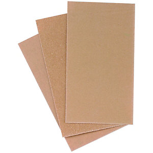 Wickes Sanding Block Paper Assorted 12 Pack