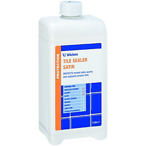 Wickes Tile Sealer Satin 1L