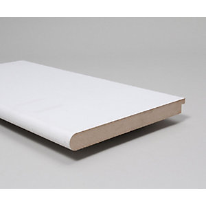 Nosed And Tongued Window Board Moisture Resistant (MR) MDF Primed 25mm x 194mm x 3.66m