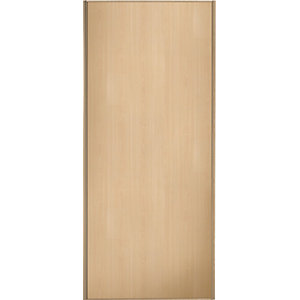 Wickes Sliding Wardrobe Door Maple Frame & Panel 2220 x 610mm
