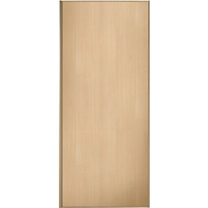 Wickes Sliding Wardrobe Door Maple Frame & Panel 2220 x 762mm