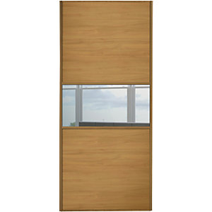 Buy cheap mirror door wardrobe compare beds prices for for Door viewer wickes