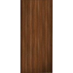 Wickes Sliding Wardrobe Door Walnut Frame & Panel 2220 x 610mm