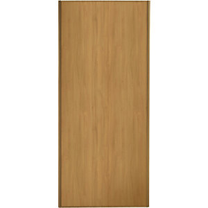 Wickes Sliding Wardrobe Door Oak Frame & Panel 2220 x 610mm