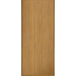 Wickes Sliding Wardrobe Door Oak Frame & Panel 2220 x 762mm