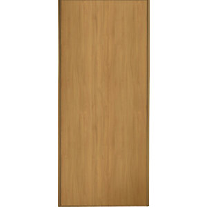 Wickes Windsor Sliding Wardrobe Door Oak Panel 2220x914mm