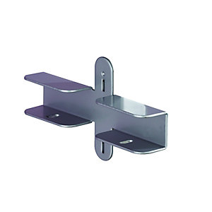 Wickes Shelf Bracket Pack 2 Pack
