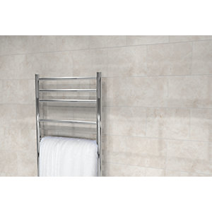 Wickes Belmont Cream Stone Effect Ceramic Wall Tile 360x275mm