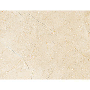 Wickes Crema Marfil Gloss Ceramic Wall & Floor Tile 275 x 360mm