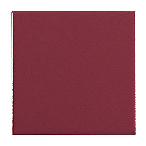 Wickes Purple Satin Ceramic Wall Tile 100x100mm