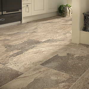 Wickes Emulated Stone Tierra Floor Tile 405 x 608mm