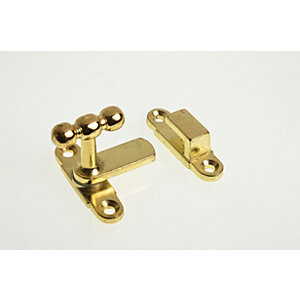 Wickes Showcase Catch Brass Plated 40mm