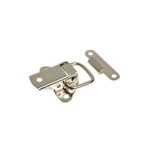 Wickes Case Catch Toggle Nickel Plated 45mm