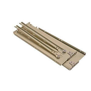 Wickes Metal Drawer System Cream 400 x 150mm Pack 2