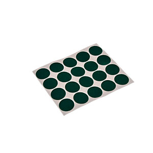 Wickes Light Duty Round Felt Pad Self Adhesive 19mm Pack 20