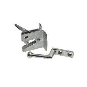 Wickes Heavy Duty Auto Gate Latch Galvanised 150mm