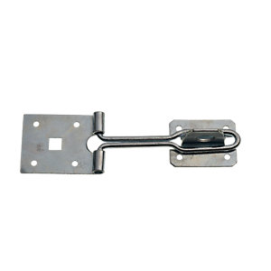 Wickes Wire Hasp and Staple Zinc Plated 150mm