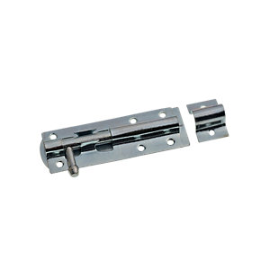 Wickes Tower Bolt Zinc Plated 100mm