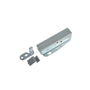 Wickes Loft Touch Latch Zinc Plated 80x20x35mm 2 Pack