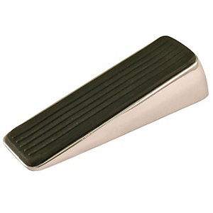 Wickes Decorative Door Wedge Polished Chrome 120 x 39 x 29mm