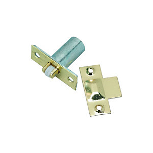 Wickes Adjustable Roller Catch Brass