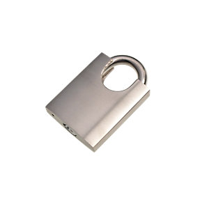Wickes Padlock Stainless Steel 50mm