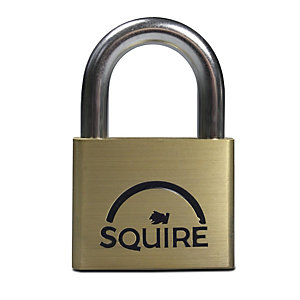 Squire LN5 Lion Padlock Brass 50mm