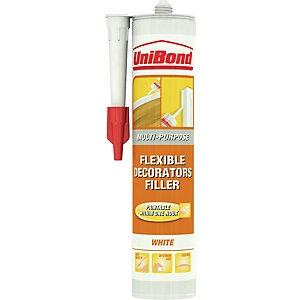 UniBond Flexible Decorators Filler Cartridge White 300ml