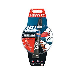 Loctite 60 Seconds Solvent Free Glue