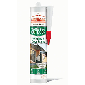 UniBond Outdoor Window & Door Frame Sealant White