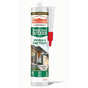 UniBond Outdoor Window & Door Frame Sealant Brown
