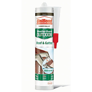 UniBond Roof & Gutter Sealant Black