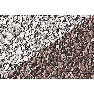 Wickes Decorative Plum Slate Chippings Jumbo Bag