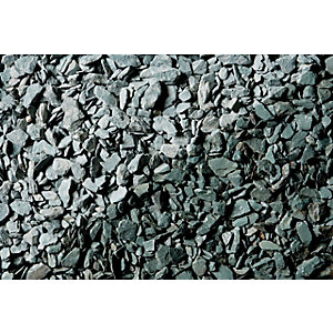 Wickes Decorative Green Slate Chippings Jumbo Bag
