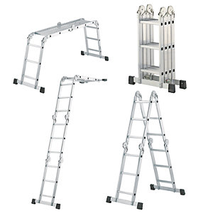 Hailo universal 4x3 rung multi-purpose ladder