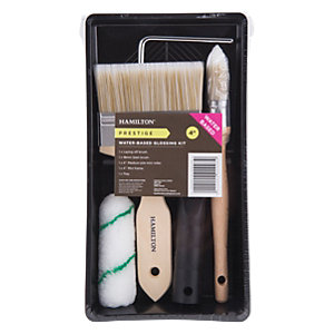 Hamilton Prestige 5 Piece Water Based Glossing Kit 4in