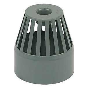 Wickes 110mm Grey Soil Balloon Grating