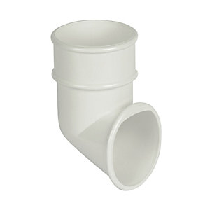Wickes White Roundline Downpipe Shoe