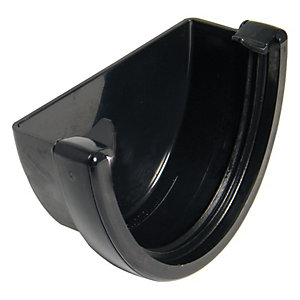 Wickes Black High Capacity External Stopend
