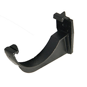 Wickes Black Cast Iron Effect Gutter Support Bracket