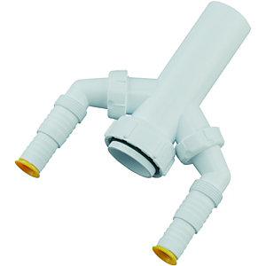Wickes Double Nozzle Accessory 40mm