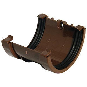 Wickes Brown Miniline Gutter Joint Bracket