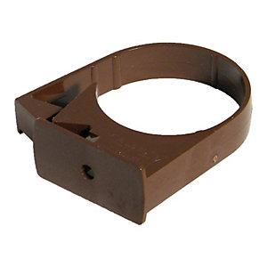Wickes Brown Miniline Downpipe Bracket