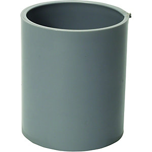 Wickes Grey Miniline Downpipe Connector