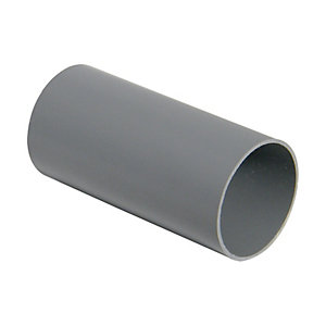 Wickes Grey Miniline Downpipe Length 2000mm