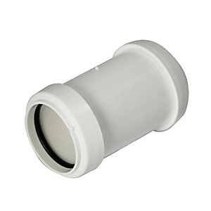 Wickes Pushfit Pipe Connector 40mm