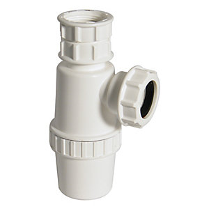 Wickes Adjustable Bottle Trap 32mm