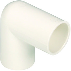Wickes Overflow 90 Deg Elbow 22mm