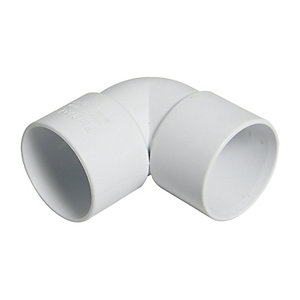 Wickes Solvent Weld Waste 90 Deg Bend 32mm