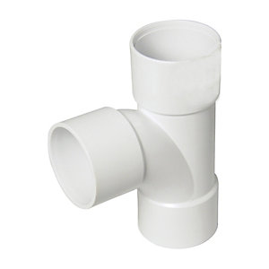 Wickes Solvent Weld Waste Tee 40mm